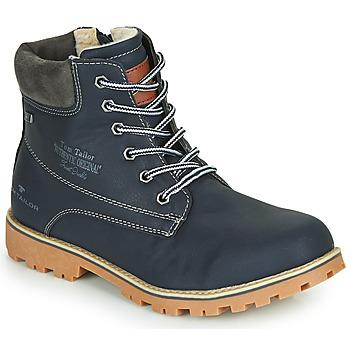 Sapatos Rapaz Botas baixas Tom Tailor 70502-NAVY Marinho