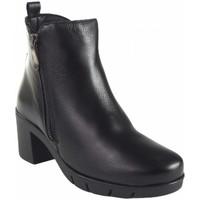 Sapatos Mulher Botins Maria Jaen Botas femininas tornozelo  1135n preta Noir