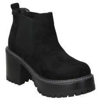 Sapatos Mulher Botins Emmshu BOTINES  HEAT MODA JOVEN BLACK Noir