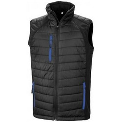 Textil Homem Casacos de malha Result R238X Preto/azul leal