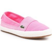 Sapatos Mulher Alpargatas Lacoste Marice 7-35CAW004213C pink