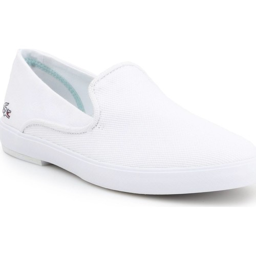 Sapatos Mulher Slip on Lacoste Cherre 7-31CAW0106001 white