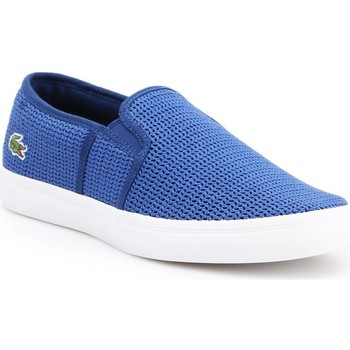 Sapatos Mulher Slip on Lacoste Gazon 7-33CAW1074125 blue