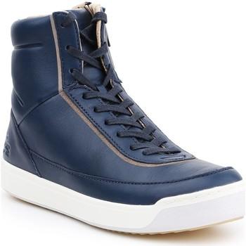 Sapatos Mulher Sapatilhas de cano-alto Lacoste Explorateur 7-32CAW0118003 granatowy