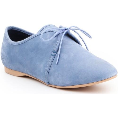 Sapatos Mulher Sapatos Lacoste Torpel 7-25LEW2008125 blue