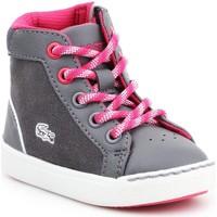 Sapatos Criança Sapatilhas de cano-alto Lacoste Explorateur 7-32CAI1001248 grey