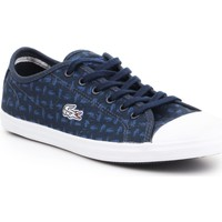 Sapatos Mulher Sapatilhas Lacoste Ziane 7-31SPW0038003 granatowy