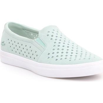 Sapatos Mulher Slip on Lacoste Gazon 7-31CAW01342K8 miętowy