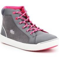 Sapatos Mulher Sapatilhas de cano-alto Lacoste Explorateur MID 7-32CAJ1001248 grey, pink