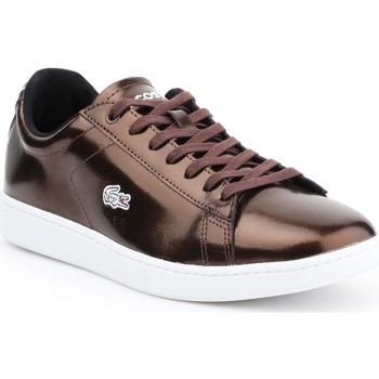 Sapatos Mulher Sapatilhas Lacoste Carnaby Evo 7-30SPW4110DB2 brown
