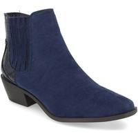 Sapatos Mulher Botins H&d YZ19-215 Azul