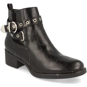 Sapatos Mulher Botins H&d YZ19-218 Negro