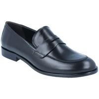 Sapatos Mulher Mocassins Luis Gonzalo Zapatos Mocasines Casual para Mujer de  5135M Preto