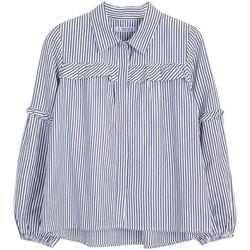Textil Rapariga camisas Mayoral  Azul