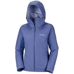 Textil Mulher Corta vento Columbia  Azul