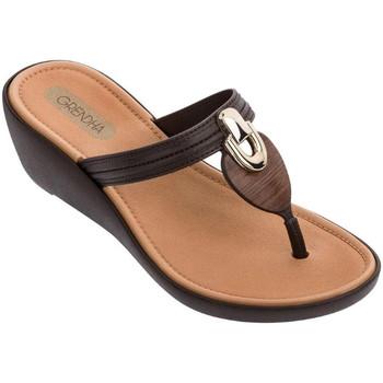 Sapatos Mulher Sapatos aquáticos Grendha - Infradito marrone 82826-90911 MARRONE