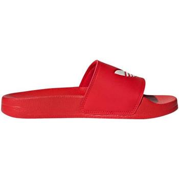 Sapatos Rapaz Sapatos aquáticos adidas Originals - Adilette lite j rosso/bco FU9179 ROSSO
