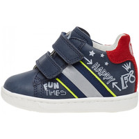 Sapatos Rapaz Sapatilhas Falcotto - Polacchino blu ATLEY VL-1C23 BLU