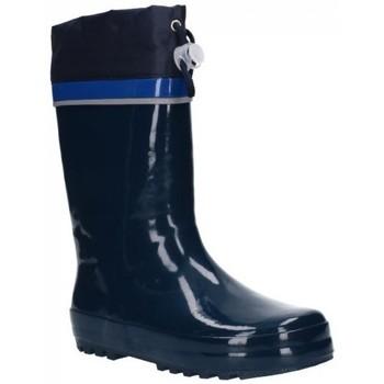 Sapatos Rapaz Botas de borracha Gioseppo 57070  MARKHAM Niño Azul marino bleu