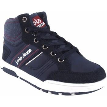 Sapatos Rapaz Sapatilhas de cano-alto Lois Bota menino  63083 azul Bleu