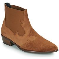 Sapatos Mulher Botas baixas Fericelli NANTIAG Camel