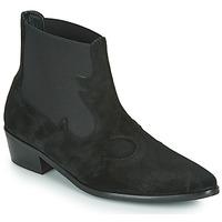 Sapatos Mulher Botas baixas Fericelli NANTIAG Preto