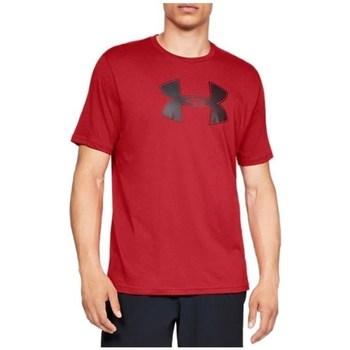 Textil Homem T-Shirt mangas curtas Under Armour Big Logo SS Tee Vermelho