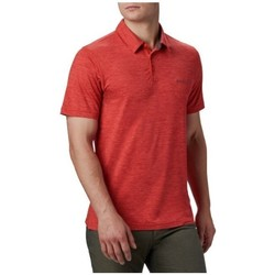 Textil Homem Polos mangas curta Columbia Tech Trail Polo Shirt Vermelho