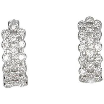 Relógios & jóias Mulher Brincos Luna Collection 50050 prata