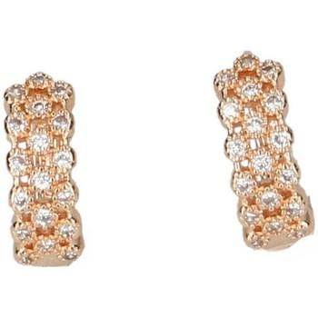 Relógios & jóias Mulher Brincos Luna Collection 50051 ouro