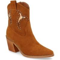 Sapatos Mulher Botins Prisska TY1063 Camel