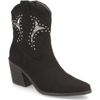 Sapatos Mulher Botins Prisska TY1063 Negro
