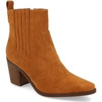 Sapatos Mulher Botins Prisska TY1065 Camel