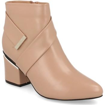 Sapatos Mulher Botins Prisska Y5675 Nude