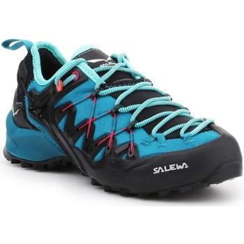 Sapatos Mulher Sapatos de caminhada Salewa WS Wildfire Edge 61347-8736 blue, black