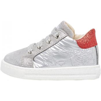 Sapatos Rapaz Sapatilhas Falcotto - Polacchino argento/rosso GOYLE-1Q55 ARGENTO