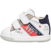 Sapatos Rapaz Sapatilhas Falcotto - Polacchino bianco GRUNDY VL-1N31 BIANCO