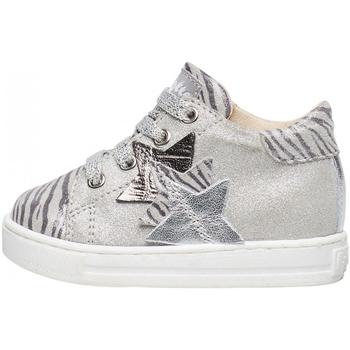 Sapatos Rapaz Sapatilhas Falcotto - Polacchino argento QUIRREL-0Q04 ARGENTO