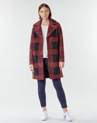 Textil Mulher Casacos Only ONLVICKI Vermelho / Preto