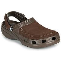 Sapatos Homem Tamancos Crocs YUKON VISTA II CLOG M Castanho