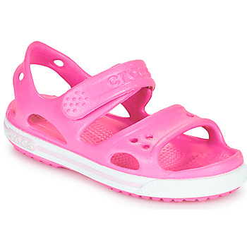 Sapatos Rapariga Sandálias Crocs CROCBAND II SANDAL PS Rosa