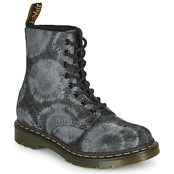 Sapatos Mulher Botas baixas Dr Martens 1460 PASCAL Preto / Cinza