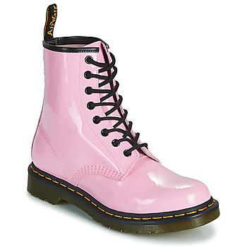 Sapatos Mulher Botas baixas Dr Martens 1460 W Rosa