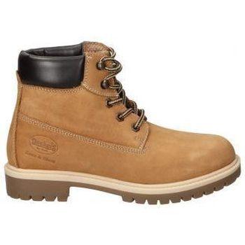 Sapatos Mulher Botins Dockers BOTINES  35FN201 MODA JOVEN TAN Jaune