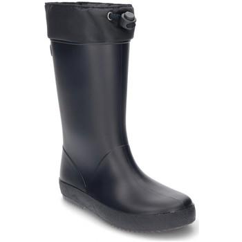 Sapatos Criança Botas de borracha Igor BOYS WATER BOOTS  SPLASH COLE MARINHO