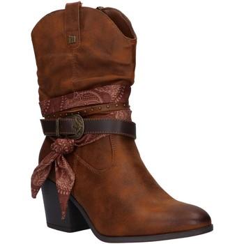 Sapatos Mulher Botas MTNG 50275 Marr?n