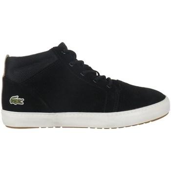 Sapatos Mulher Botas baixas Lacoste Ampthill Chukka 417 1 Caw Preto