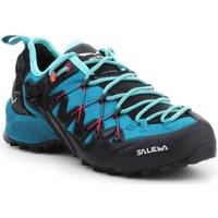 Sapatos Mulher Sapatilhas de corrida Salewa WS Wildfire Edge Azul, Grafite