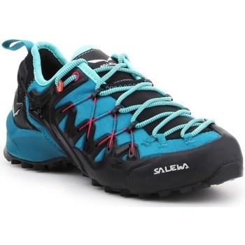 Sapatos Mulher Sapatilhas de corrida Salewa WS Wildfire Edge Grafite,Azul