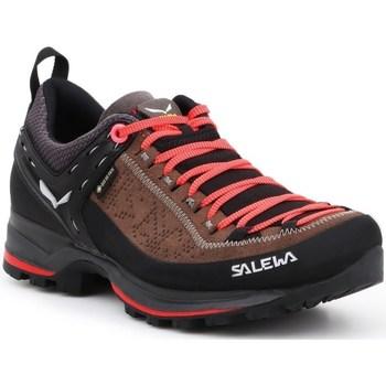 Sapatos Mulher Fitness / Training  Salewa WS Mtn Trainer 2 Gtx Preto,Cor de laranja,Castanho